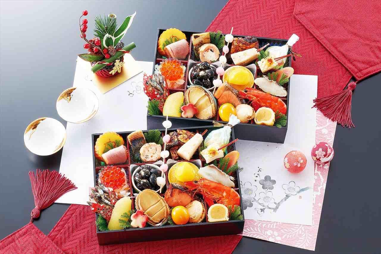 京都御所南 京料理「やまの」監修 個食二段重 双葉